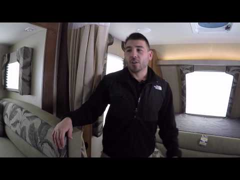 Cold Weather Camping inside the 2015 Lance 1985 Travel Trailer