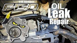 2016 F150: Vacuum Pump Oil Leak Repair (3.5L EcoBoost)