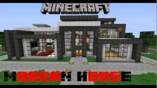 Minecraft Modern House + DOWNLOAD