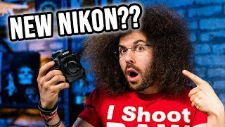 NIKON TEASES NEW MIRRORLESS CAMERA (Reaction + Thoughts)
