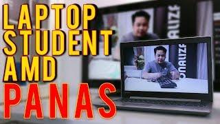 Laptop Student Lenovo AMD Panas?