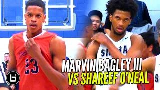 Marvin Bagley III vs Shareef O