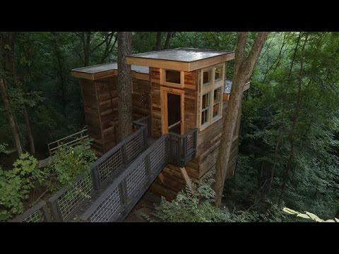 Behind the Build: Florida Georgia Line's Speak Easy Treehouse | Treehouse Masters