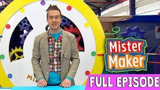 Giant Powder Paint Picture | Episode 2 | Full Episode | Mister Maker Comes To Town