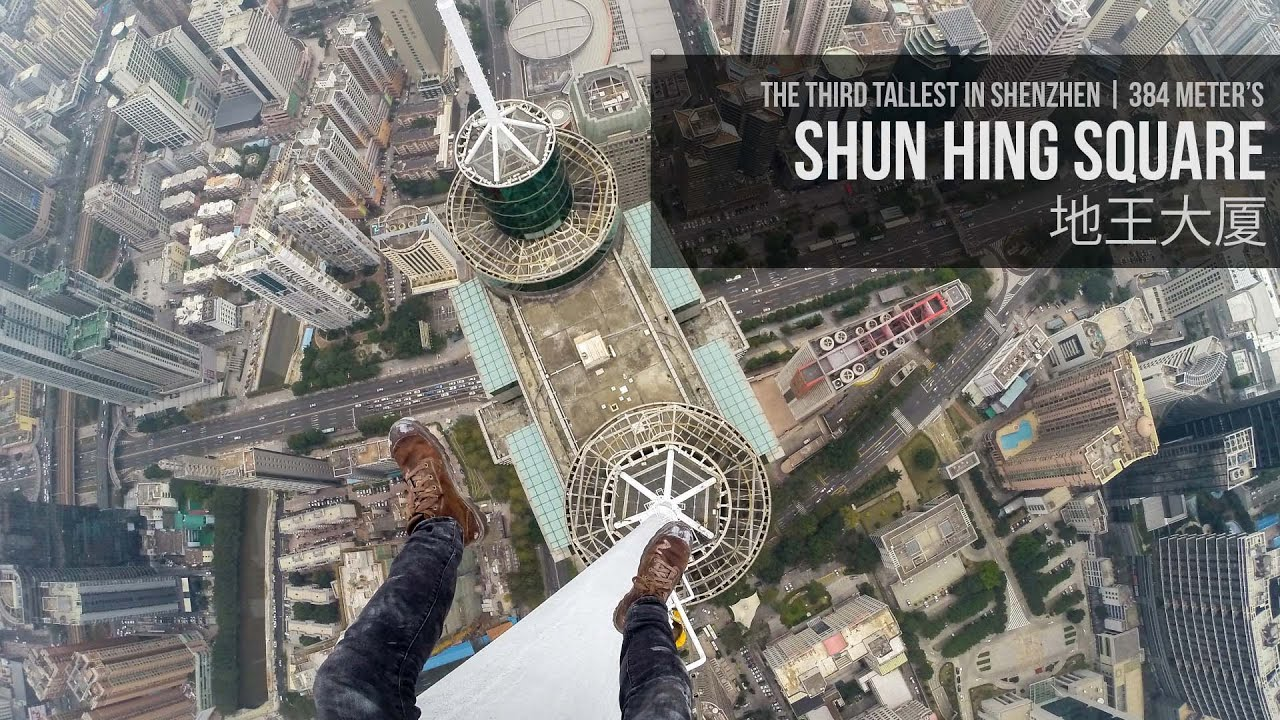 [Would You Climb The Tallest Building In Town For A Selfie?] Video