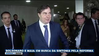 Bolsonaro e Maia: Busca pela sintonia para a Reforma