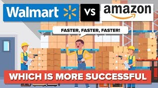 Walmart vs Amazon - Which Is More Successful - Company Comparison by : The Infographics Show