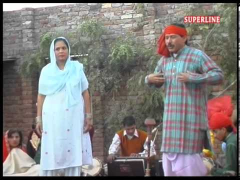 Haryanvi Saang Raja Harish Chander Song Kad Ka Dekhu Bat Ghat Pe video