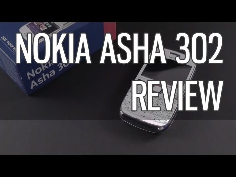 Nokia Asha 302 review - cheap mobile phone with QWERTY keyboard
