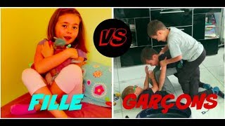 FILLE VS GARCONS (ft Swann Cooking Magic)