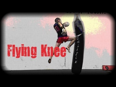 Muay Thai - How to do a Flying Knee Image 1