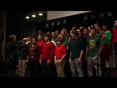 Finney High School Choir Sings Carol of the Bells in chapel