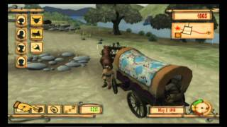 First Play - Oregon Trail Wii w/Commentary Part 1