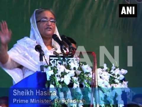 Bangladesh PM Sheikh Hasina seeks a second consecutive term, appeals for votes