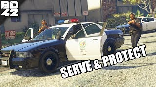 SERVE AND PROTECT! MULTIPLAYER POLICE MOD Grand Theft Auto V