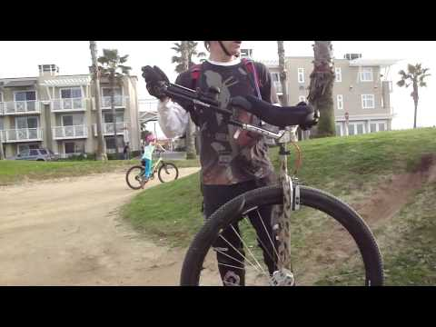 Exclusive! MUST SEE! Coker Unicycle and Kid Goes Ballistic!