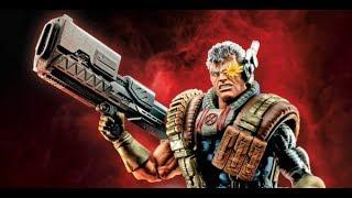 """Cable - Deadpool Marvel Legends 6"""" Action Figure Review - Sasquatch BAF"""