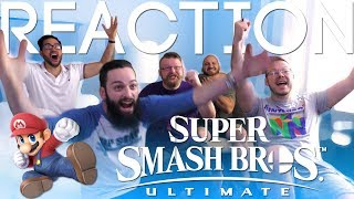 Super Smash Bros Ultimate  E3 2018 Trailer REACTION!!