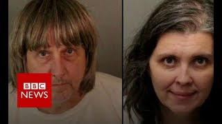 California: Shackled siblings parents arrested - BBC News