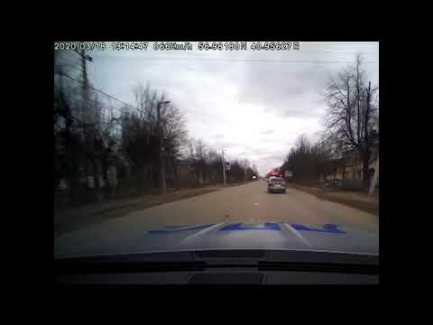 В Иванове после долгой погони сотрудники ДПС поймали пьяного за рулем, который вел себя неадекватно (видео погони)