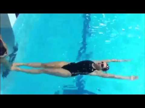Синхронное плавание: фигуры для начинающих - Драки Видео