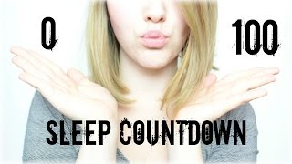 ASMR Geflüsterter Einschlaf Countdown ♡ Sleep Countdown | Close up Ear to Ear Whisper