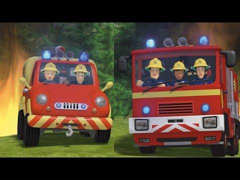 Пожарный Сэм на русском | командная работа спасает 🚒 Эпизоды Компиляция | Новые серии HD🔥 мультфильм