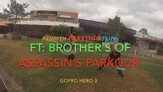 Penrith Parkour Fun | Gopro hero 3