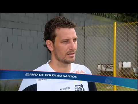 De volta à Baixada, Elano fala sobre expectativas e crise financeira do Santos