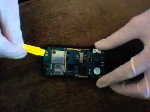 Disassembly Samsung GT-E2550 Monte Slider