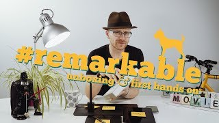 reMarkable Paper Tablet · Unboxing & First Hands On · 599€ für e-Ink? · Deutsch