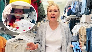 Sent Him To Time Out At The Mall (Funny Reaction!)