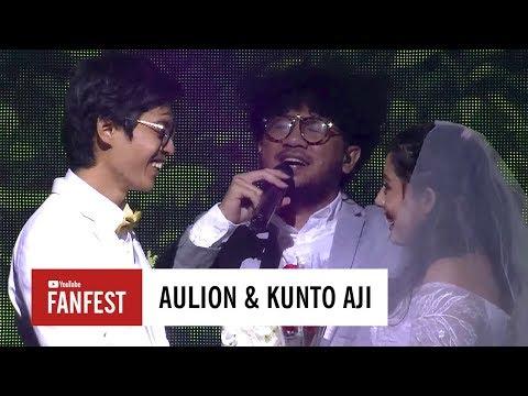 Aulion  amp  Kunto Aji   YouTube FanFest Indonesia 2017