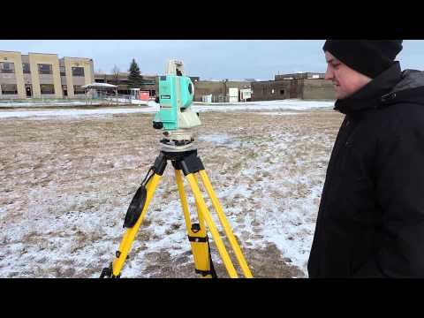 Setting up a Total Station
