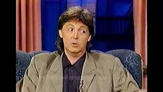 PAUL McCARTNEY - REVEALING INTERVIEW