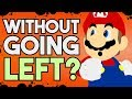 Is it Possible to Beat New Super Mario Bros. U Without Pressing Left?