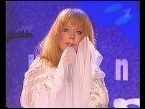 Алла Пугачева на закрытии фестиваля Новая волна в Юрмале (04.08.2002 г.)