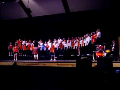 Chesapeake Bay Middle School 8th Grade Chorus - Somebody to Love