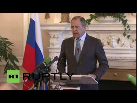Lavrov: If Kosovo is a special case then Crimea is also