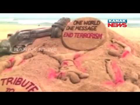 Sudarsan Pattnaik's Sand Art Pays Tribute To Orlando Shooting Victim