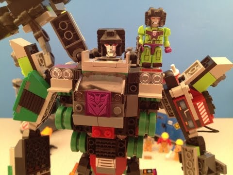 KRE-O DEVASTATOR DESTRUCTION SITE PLAYSET VIDEO TOY REVIEW
