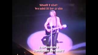 Watch Bon Jovi Cant Help Falling In Love video