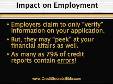 COST OF LOW CREDIT SCORE: info from the Credit Secrets Bible
