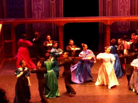 bailes de antaño - chotis del porfiriato - ENDF