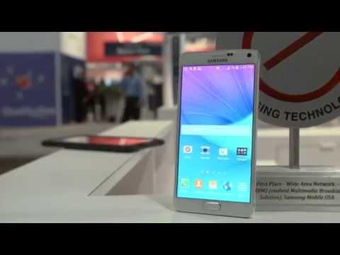 Samsung Galaxy Note 4 - CTIA 2014