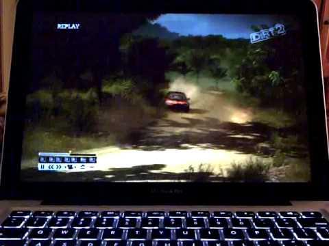 2012 Macbook Pro 13 - Intel HD Graphics 4000 - Dirt 2
