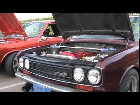 Datsun 510 meet @ Nicks Superburger   oct. 6,2012