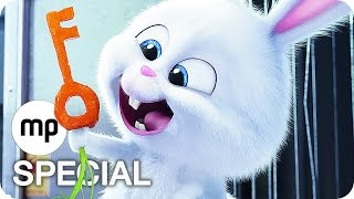 PETS Clips, Featurette & Trailer German Deutsch (2016)