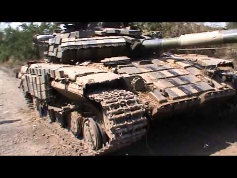 Первый танк подразделения Моторолы, отбитый у укровояк