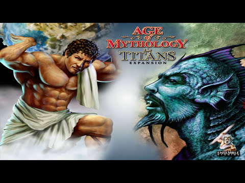 Age of Mythology The Titans PC Portada